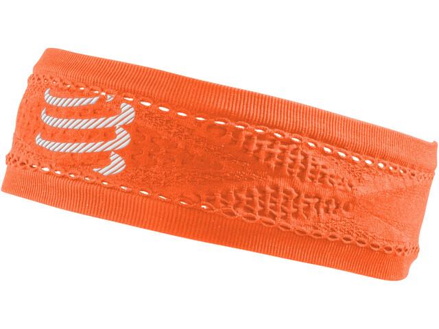 Compressport Thin On/Off Headband fluo orange